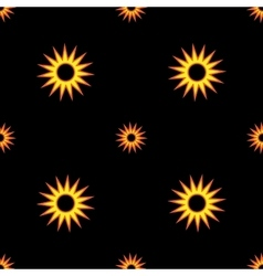 Stars geometric seamless pattern 807 vector image