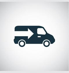 truck arrow icon trendy simple symbol concept vector image