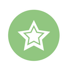 Star isolated symbol vector