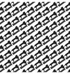Seamless pattern background of air nailer vector image vector image