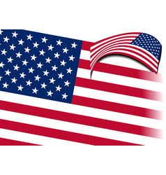 4th july - independence day of united states vector image