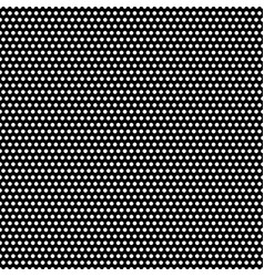 abstract seamless pattern with dots modern black vector image
