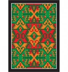 Bulgarian ethnic background vector