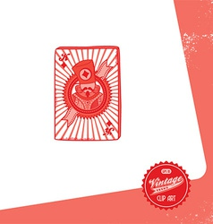 card design elements vector image