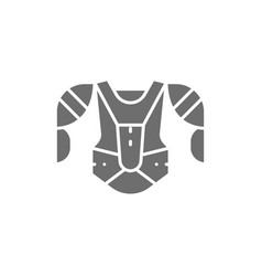 Hockey uniform sports sweater sweatshirt gray vector