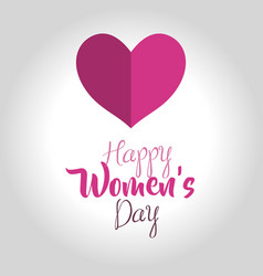 international women day card icon vector image