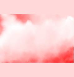 Red watercolor splash background vector