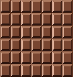 Seamless chocolate texture vector image