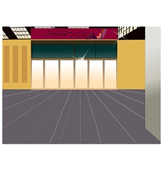 Shopfront Background vector