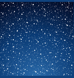 Snow blue background christmas snowy winter vector