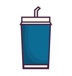 Soft drink icon vector