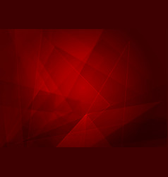 abstract red background with shape vector image vector image