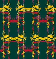 Seamless ikat pattern2 vector image vector image
