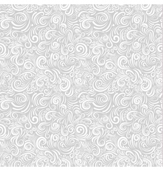 White floral paper background vector image