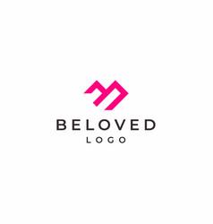 Beloved logo vector