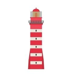 cartoon flat lighthouses vector image