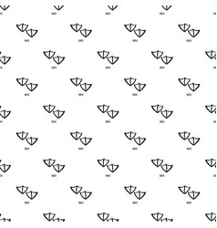 Duck step pattern seamless vector