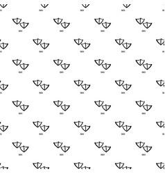 Duck step pattern seamless vector