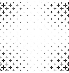 Monochromatic pattern - abstract background vector