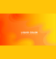 plastic liquid gradient waves sale banner template vector image