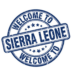 Welcome to sierra leone vector