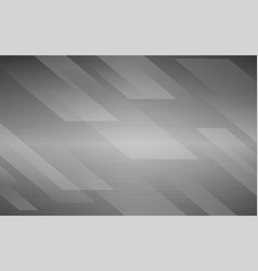 White brush metal abstract geometric background vector