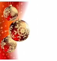 Christmas elegant card vector image