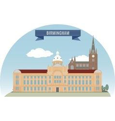 Birmingham vector image