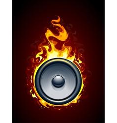 Burning speaker vector