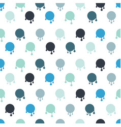 pattern of the stain with a drop vector image vector image
