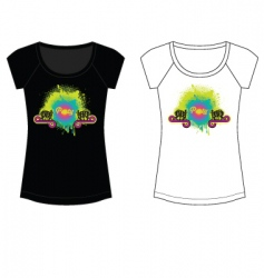 party t shirt vector image