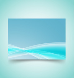 abstract waves set 10 vector image