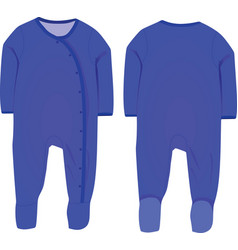 baby boy sleep suit vector image