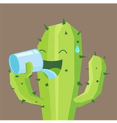 Cactus Drink vector