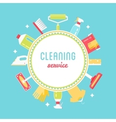Cleaning Service Sign vector