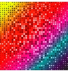 Dark red purple blue color Light Abstract pixels vector