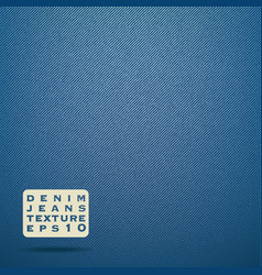 Denim jeans fabric texture vector image