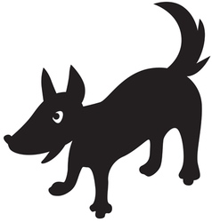doggy vector image