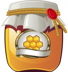 honey spread vector image