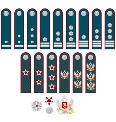 Insignia of the Federal Tax Service of Russia vector image