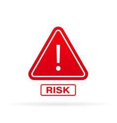 Medium risk speedometer risk control concept vector