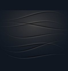 vecnor black abstract background with realistic vector image