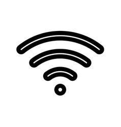 wi-fi - icon vector image