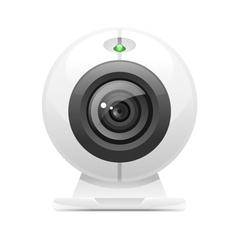 web camera icon vector image vector image