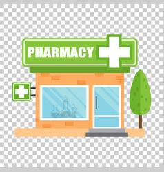 pharmacy drugstore shop store pharmacy on vector image