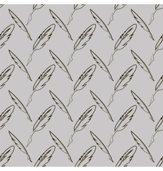 Set of Different Feathers vector image vector image