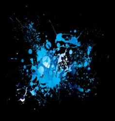 dribble splat vector image vector image