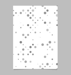 Abstract dot pattern background poster template vector