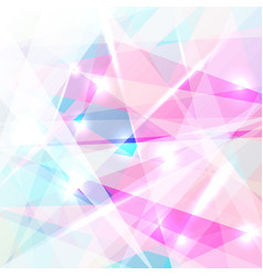 abstract geometric colorful low polygon vector image