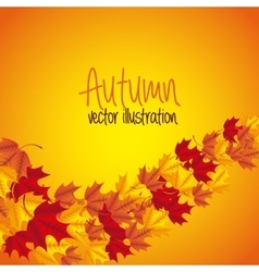 Autum season vector